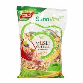 Musli cu fibre 400g - SanoVita
