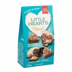 Little hearts cu cocos si ciocolata 100g - SanoVita