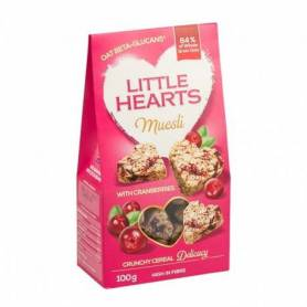 Little hearts cu merisor 100g - SanoVita