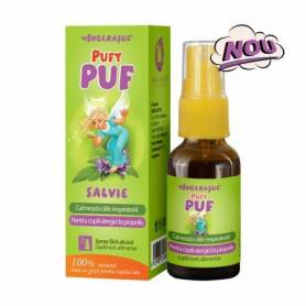 PufyPUF Salvie fara alcool spray 20ml - Dacia Plant