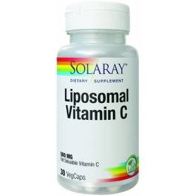 Liposomal Vitamin C 500mg 30tb - Solaray - Secom