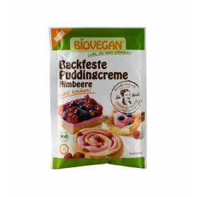 Crema solida pentru budinca de zmeura bio 52g - Biovegan