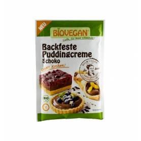 Crema solida pentru budinca de ciocolata bio 55g - Biovegan