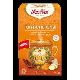 CEAI CU TURMERIC 17pl ECO-BIO - Yogi Tea