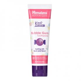 Pasta de dinti pentru copii, Bubble Gum, 80g - Himalaya