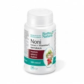 Noni Extract + Vitamina C Naturala 30cps - Rotta Natura