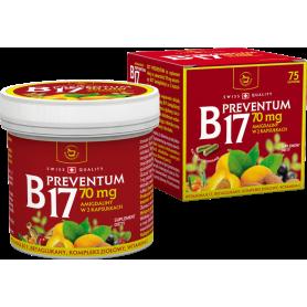 Vitamina B17 - amigdalina - Preventum B17 - 500mg - 75cps
