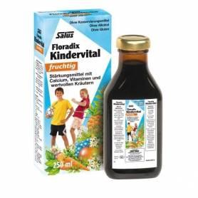 Floradix Kindervital fruchtig - Elixir bio cu fructe, vitamine si plante 250ml SALUS HAUS