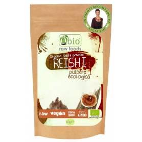 Ganoderma - Reishi pulbere 60g raw eco-bio - Obio