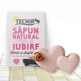 SAPUN NATURAL plin de IUBIRE 90g - TECHIR
