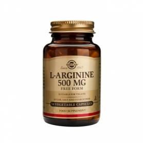 L-arginina 500mg 50 veg.caps - SOLGAR