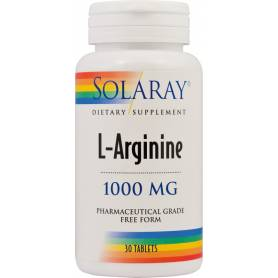 L-arginina 1000mg 60cps - SOLARAY - SECOM