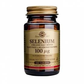 Selenium 200mcg 50 tb - SOLGAR