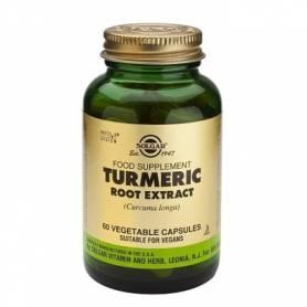 TURMERIC ROOT EXTRACT - radacina de curcuma - 60 veg cps - SOLGAR