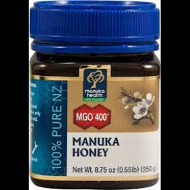 Miere MANUKA - MGO 400 - UMF 20+ - 250g - Manuka Health NZ