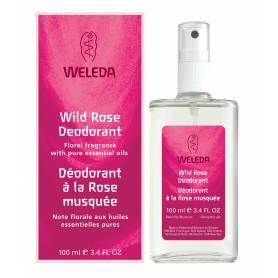 Deodorant natural cu TRANDAFIR SALBATIC 100ml - WELEDA