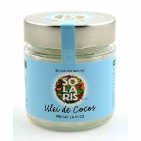 Ulei de cocos extra virgin 200ml - Solaris