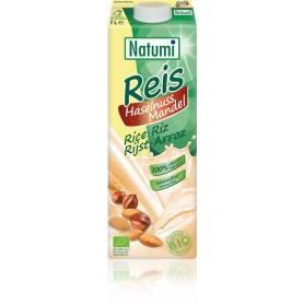 Lapte vegetal de orez cu alune si migdale 1l ECO-BIO - Natumi