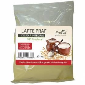 Lapte praf de soia 100g Pronat