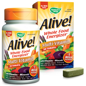 Alive - mega nutrient - 30 tablete - SECOM