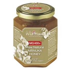 Miere MANUKA - MGO 400+ - UMF 20+ - 340g - Wild Honey NZ