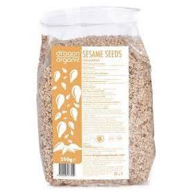 Seminte de susan integral raw bio 250g - Dragon Superfoods