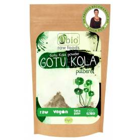 Gotu Kola pulbere raw eco-bio 125g OBio