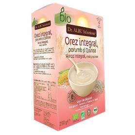 Cereale bebelusi cu porumb si quinoa - 250g - eco bio - Dr ALBU Selections