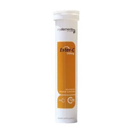 Ester-C - Vitamina C non-acida - 1000mg 20tb efervescente - My Elements