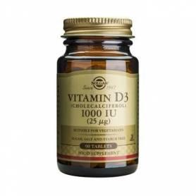 Vitamina D3 1000UI - 90tb - SOLGAR