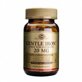 Gentle Iron 20mg fier usor asimilabil Solgar