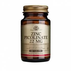Zinc picolinat 22mg 100tb - SOLGAR