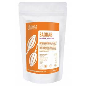 Baobab pulbere eco-bio 100g Dragon Superfoods