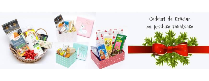 Cadouri cu produse sanatoase de Craciun si sarbatorile de iarna