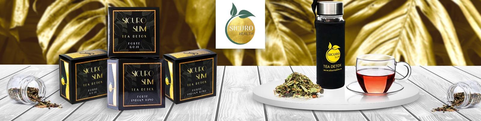 Sicuro Slim ceai detoxifiant